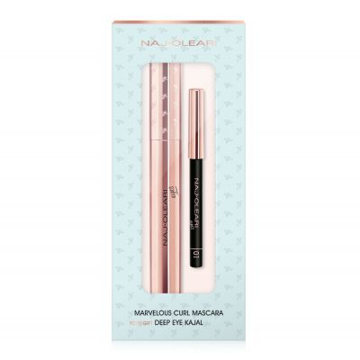 Marvelous Curl Mascara + Deep Eye Kajal