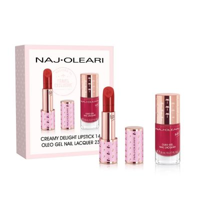 Lips & Nails Red Kit