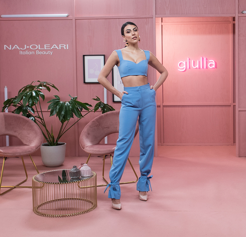 Naj Oleari Beauty sponsor make-up Salotto Salemi